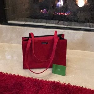Kate Spade Red Hand Bag